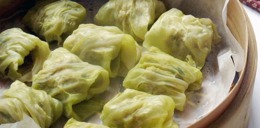 Cabbage Wrapped Dimsums